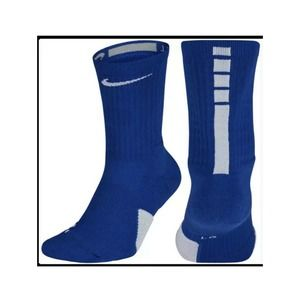 NIKE Elite Cushioned Basketball Crew Socks Y/W